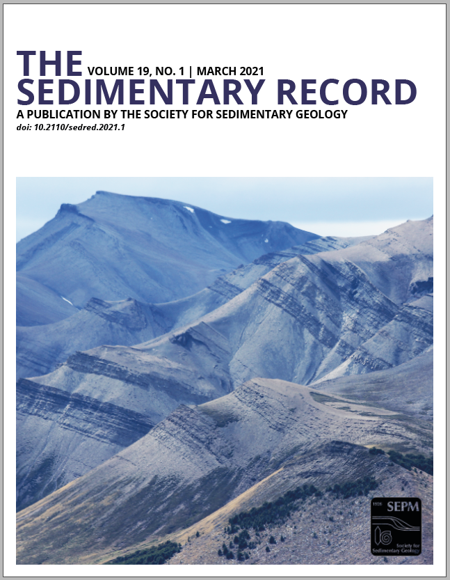 The Sedimentary Record March 2021 Cover